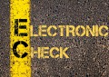 electronic check payments